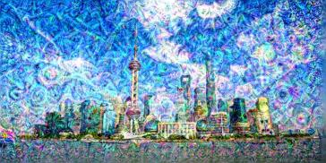 Deep Dream with trained model